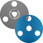 "5"" AVOS BlueFire SpeedLok Resin Fiber Discs (Pkg Qty: 10) | 36 Grit | Norton 66261126557"