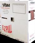 """1"""" x 50 Yards Shop Utility Roll   120 Grit   VSM"""