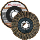 "4-1/2"" x 7/8"" Surface Conditioning Flap Disc Type 27 (Flat) 