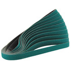 "1/4"" x 24"" Zirconia Dynafile Belt (Pkg Qty: 10) | 120 Grit ZP | Dynabrade 79059"