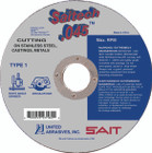 "5"" x .045"" x 7/8""  T1 Cut-Off Wheel | Sait Saitech 23177"