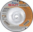 "4.5"" x 1/8"" x 5/8""-11 A24R T27 Pipeline Wheel 