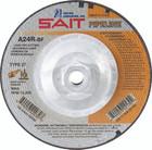 """6"""" x 1/8"""" x 5/8""""-11 A24R T27 Pipeline Wheel   Sait 22046"""