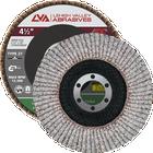 "4.5"" x 7/8"" Flap Disc for Aluminum Type 27 Flat | 60 Grit T27 | LVA CFFAS45S060AP"