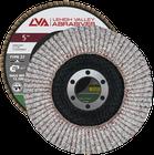 "5"" x 7/8"" Flap Disc for Aluminum Type 27 Flat | 60 Grit T27 | LVA CFFAS50S060AP"