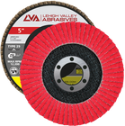 "5"" x 7/8"" Ceramic Flap Disc Type 29 Conical 
