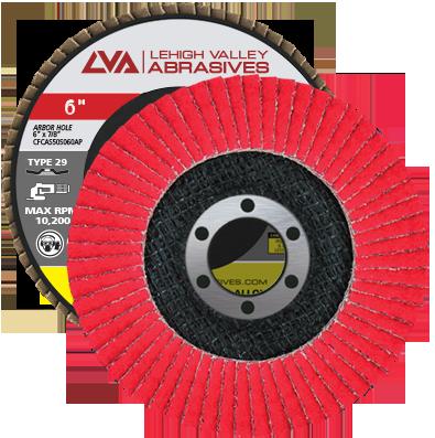 "10 Pack 4-1//2/"" x 7//8/"" Ceramic 60 Grit Flap Discs Premium Grinding Wheels T29"