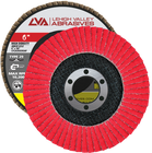 "6"" x 7/8"" Ceramic High Density Flap Disc Type 29 Conical 