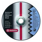"4"" x 1/4"" x 5/8"" A24R T27 Grinding Wheel 