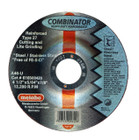 "4.5"" x 5/64"" x 7/8"" A46U T27 Combo Wheel | Metabo Combinator 616500420"