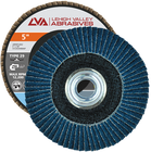 """5"""" x 5/8""""-11 Threaded Zirconia Flap Disc Type 29 Conical 