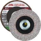 "4 1/2"" x 5/8""-11 Threaded Flap Disc for Aluminum Conical 