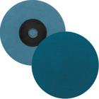 "3"" Quick Change Sanding Disc (Box Qty: 50) | Type S | 120 Grit Zirconia | LVA SD30ZA-120"