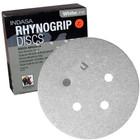 "5"" 5 Hole Rhynogrip Hook & Loop Discs (Box of 50) | 60 Grit AO | Indasa 54-60"