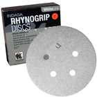 "5"" 5 Hole Rhynogrip Hook & Loop Discs (Box of 50) | 100 Grit AO | Indasa 54-100"