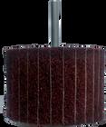 3 x 2 x 1/4 In. Shank Interleaf Flap Wheel | Fine / 150 Grit | Wendt 117868