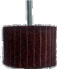 3 x 2 x 1/4 In. Shank Interleaf Flap Wheel | Very Fine / 240 Grit | Wendt 117870
