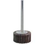 3/4 x 3/8 x 1/8 In. Shank Mini Flap Wheel | 240 Grit A/O | Wendt 112090