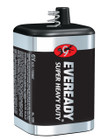 Industrial Super Heavy Duty 6V Battery 1209 - 12 pack | Eveready 1209
