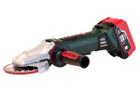 "WPF 18 LTX 125 (US613070620) 5"" Cordless Flat Head Angle Grinder Kit | Metabo"