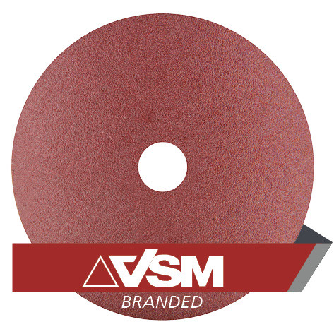 "5/"" Ceramic Resin Fiber Disc 80 Grit 5 inch Grinding /& Sanding Discs 50 Pack"