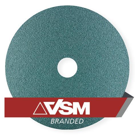 """100-4.5/"""" Zirconia Resin Fiber Sanding Grinding Disc 24 Grit"""