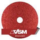 "7"" x 7/8"" Resin Fiber Discs (Pack Qty: 50) | 80 Grit Ceramic Plus | VSM XF885 149563"