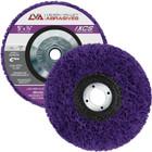 """5"""" x 5/8-11"""" Non-Woven Fiberglass Backed T27 Clean & Strip Disc (Purple / Ultra Coarse)"""