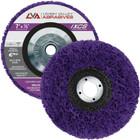 """7"""" x 5/8-11"""" Non-Woven Fiberglass Backed T27 Clean & Strip Disc (Purple / Ultra Coarse)"""