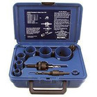 9 piece Plumber's Hole Saw Kit | Blu-Mol Bi-Metal