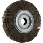 "6"" x 1"" x 1"" Flap Wheel on Flange | 40 Grit Aluminum Oxide | LVA FW600100D040AO"