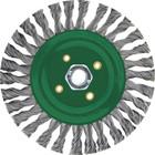 "6"" x 5/8-11"" Stringer Bead Pipeline Wire Brush  (stainless steel)"