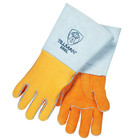 Small Gold Elkskin Stick Welding Gloves | Tillman 850S