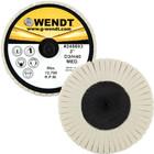 "3"" Quick Change Felt Polishing Mini Flap Disc | Type R | Wendt Abrasives 245693"