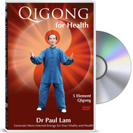 Qigong for Health - Five Element Qigong DVD by Dr Paul Lam