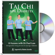 Tai Chi for Diabetes DVD - 10 Lessons with Dr Paul Lam