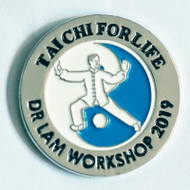 Tai Chi for Life - Workshop 2019 Metal Pin