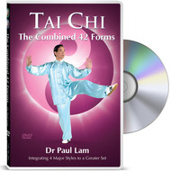 Tai Chi - The Combined 42 Forms DVD with Dr Paul Lam