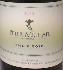 2013 Peter Michael Chardonnay -  Belle Cote