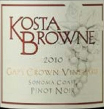 2010 Kosta Browne Pinot Noir Gap's Crown Vineyard