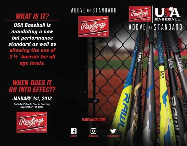 Rawlings Baseball Bats 2018 - Ballgloves