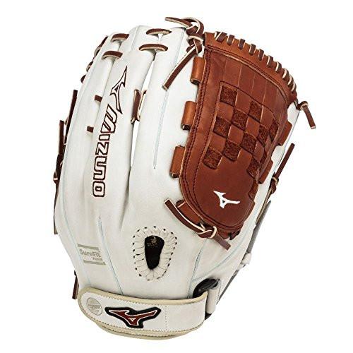 Mizuno Gmvp1300psef3 Fastpitch Softball Glove 13 Inch Silver Brown
