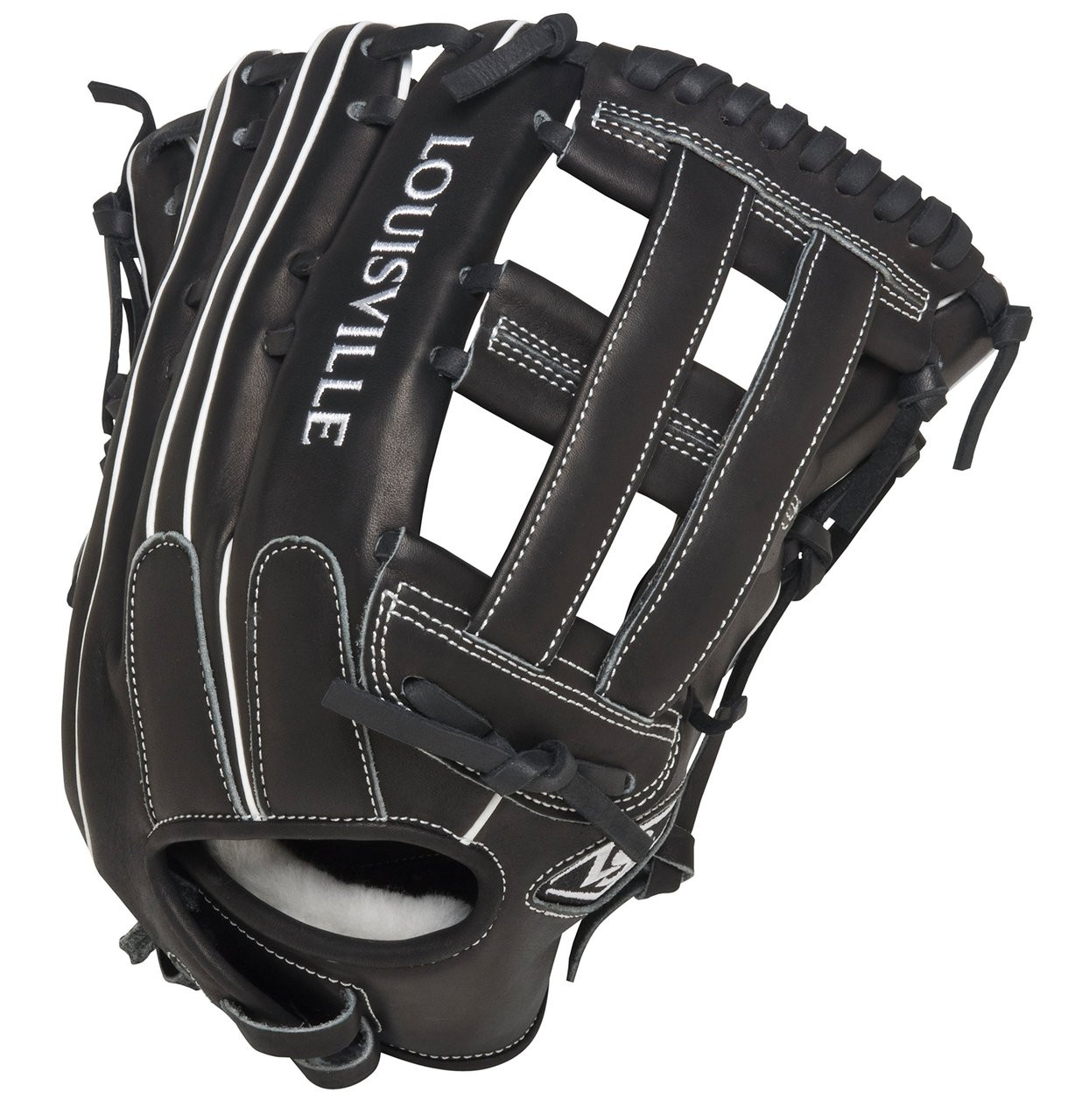2278d4626b4 Louisville Slugger Super Z Black 13.5 inch Slow Pitch Softball Glove ...