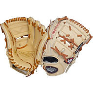 Louisville Slugger Pro Flare Cream 11.75 2-piece Web Baseball Glove (Left Handed Throw)