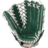 Louisville Slugger 12.75-Inch TPX HD9 Hybrid Defense Ball Glove (Green/Gray) (Right Hand Throw)