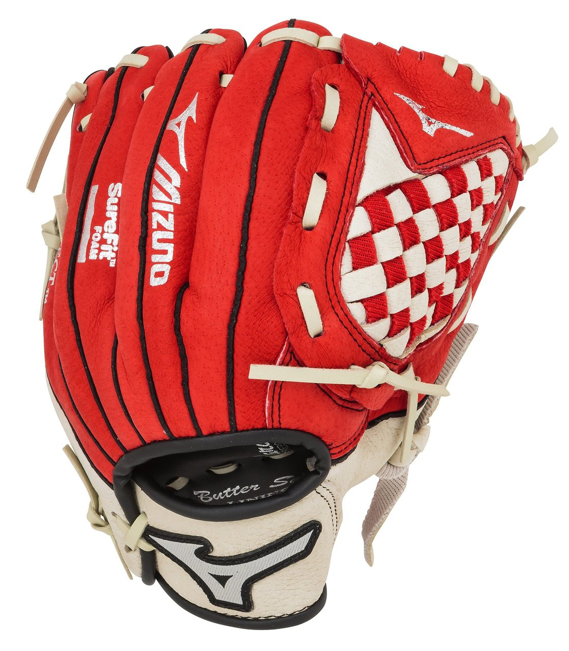 Mizuno Prospect Series GPP1000Y1RD 10 inch Red Youth Baseball ... c7dc19b9567a