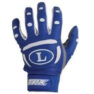 Louisville Slugger BG25 Adult TPX Pro Batting Gloves (1 Pair) (Black, Small)