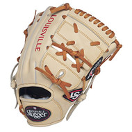 Louisville Slugger Pro Flare Cream 11.75 2-piece Web Baseball Glove