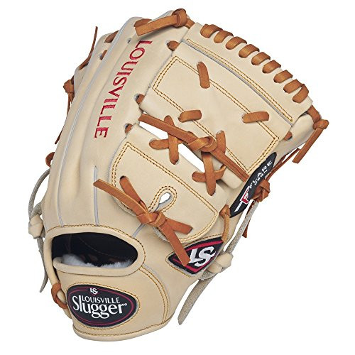 Louisville Slugger Pro Flare Cream 11.75 2-piece Web Baseball Glove (Right Handed Throw)