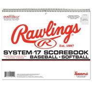 Rawlings 17SB System 17 Scorebook Baseball Softball